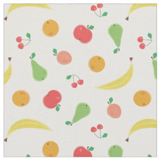 Delicious Fruits Seamless Pattern Fabric