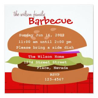 Delicious Hamburger Card