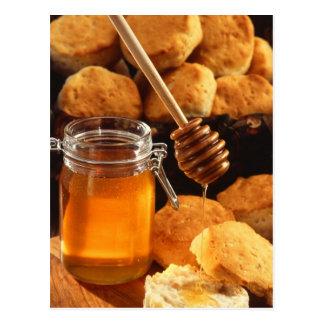 Delicious Honey Jar Postcard