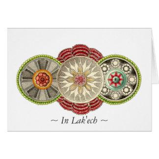 Delicious In Lak'ech Mandala Postcard