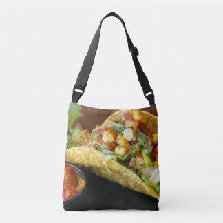 delicious Mexican Tacos photograph Crossbody Bag