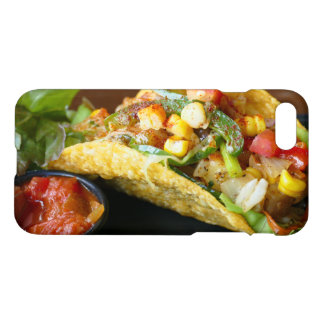 delicious Mexican Tacos photograph iPhone 8/7 Case