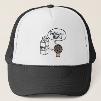 Delicious Milk Trucker Hat