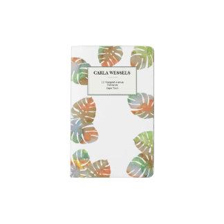Delicious Monster Moleskin Pocket/Cover
