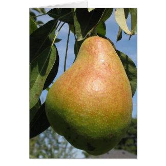 Delicious Pear Card