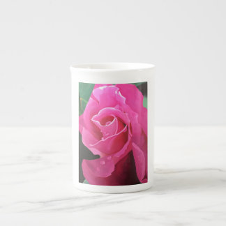 Delicious Pink Rose Bone China Mug