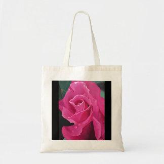 Delicious Pink Rose Tote Bag