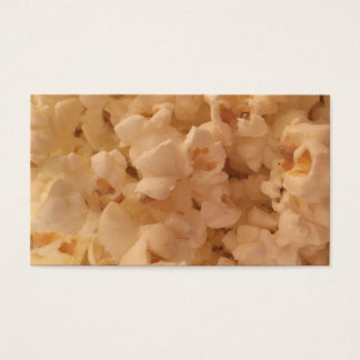 Delicious Popcorn Business Card