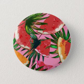 Delicious Summer Fruit Melon tasty Design 2 Inch Round Button