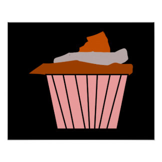 Delicious tasty Cupcake Poster