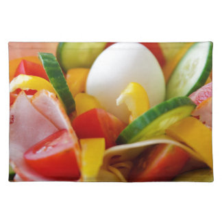 Delicious Vegetables Salad Food Picture Placemat