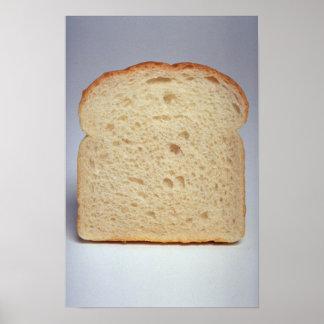 Delicious White bread Poster