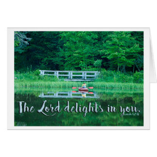 Delight ... no matter what! card