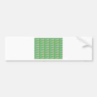 DELIGHT Sparkle Green Dream Ideal GIFTS FUN Bumper Sticker