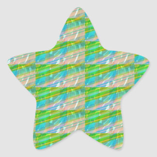 DELIGHT Sparkle Green Dream Ideal GIFTS FUN Star Stickers