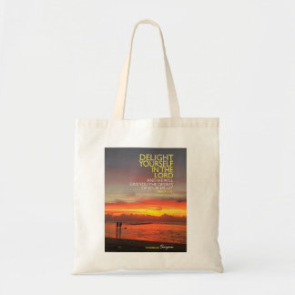 Delight Yourself in the Lord tote bag