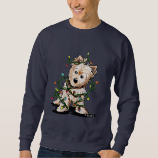 DeLighted Christmas Terrier Pull Over Sweatshirts