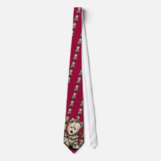 DeLighted Christmas Terrier Tie