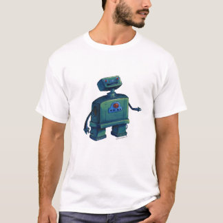 Delighted Robot T-Shirt