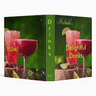Delightful Drinks cookbook Binders
