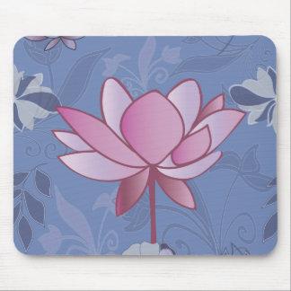 Delightful garden mouse pad