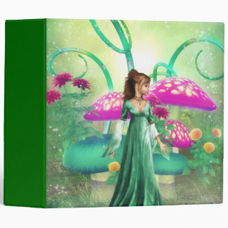 Delightful Green Binder