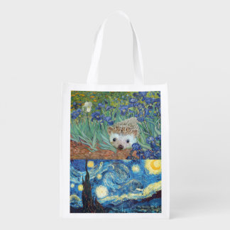 Delightful Hedgehog Shopping Bag