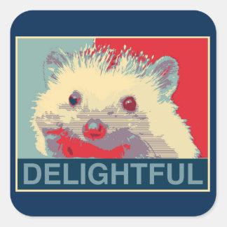 Delightful Hedgehog Stickers