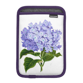Delightful Hydrangea iPad Mini Sleeves