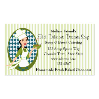 Delightful Soup Business Card Template