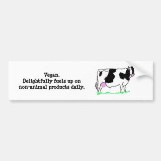 Delightful Vegan Bumper Sticker