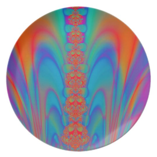 Delights In Colour #1 Melamine Plate