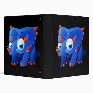 Delilah The Dinosaur Vinyl Binders