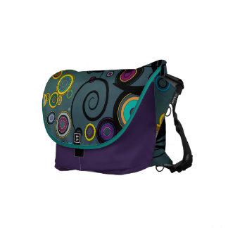 Delirium - Abstract Art Messenger Bag