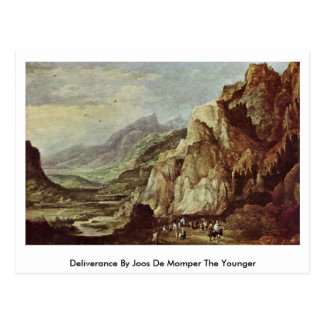 Deliverance By Joos De Momper The Younger Postcard
