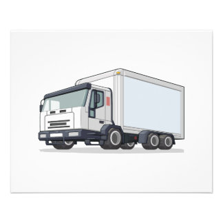 Delivery Truck Flyer