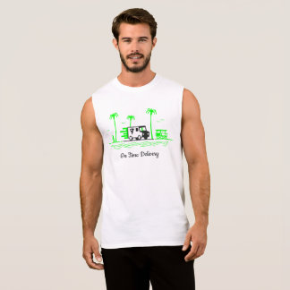 Delivery Truck Sleeveless Shirt