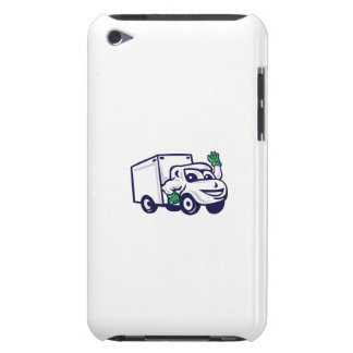 Delivery Van Waving Cartoon Case-Mate iPod Touch Case