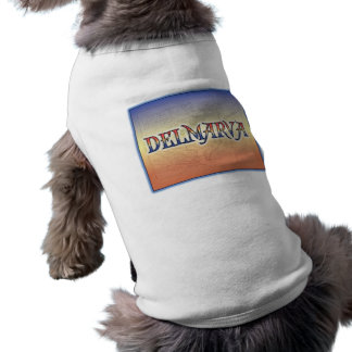 DelMarVa Antique Map Doggie T-shirt