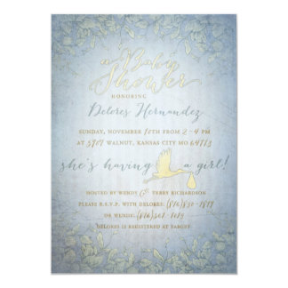 Delores baby shower! card