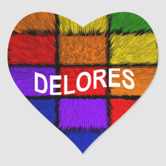 DELORES HEART STICKER