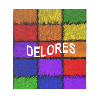DELORES NOTEPAD