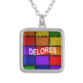 DELORES SILVER PLATED NECKLACE