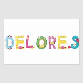 Delores Sticker