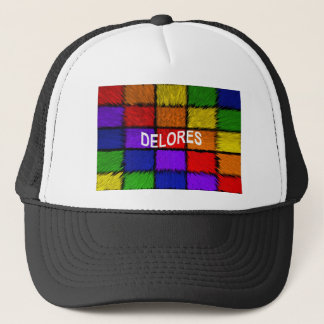 DELORES TRUCKER HAT
