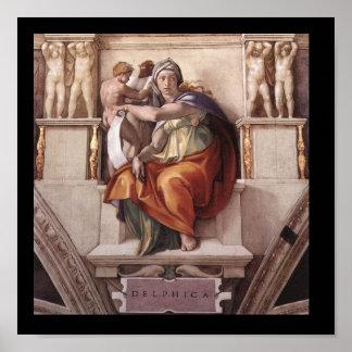 Delphic Sibyl Poster