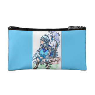 Delphine, the watery elf makeup bag