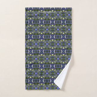 Delpininiums and Daisies Hand Towel
