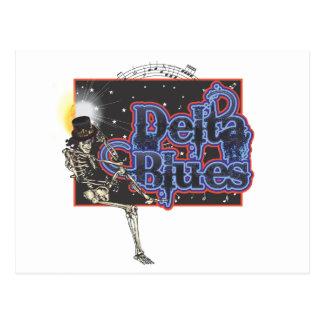 Delta Blues Postcard