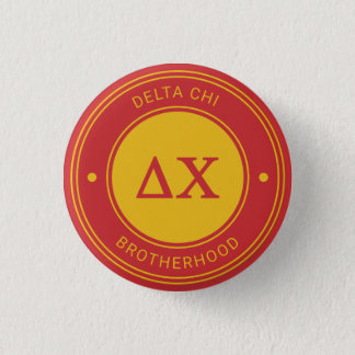 Delta Chi | Badge 1 Inch Round Button